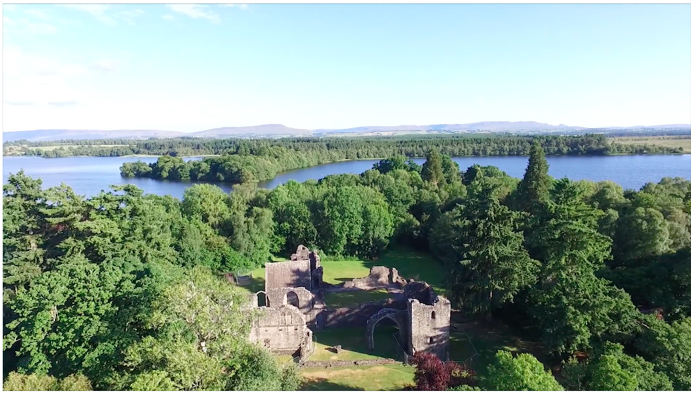 Image of Inchmaholme priory in Lake of Menteith